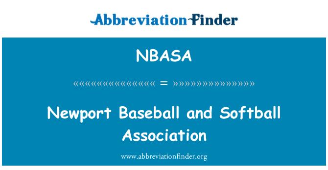 NBASA: Newport Baseball and Softball Association