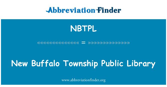 NBTPL: Nova gradska knjižnica u Buffalo općina