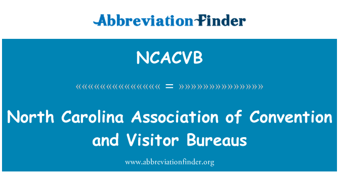 NCACVB: North Carolina Association Convention und Ämter für Besucher