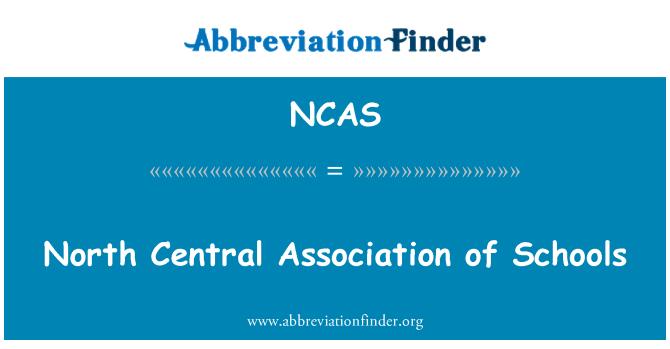 NCAS: North Central Association de escuelas