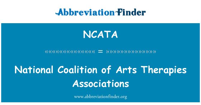 NCATA: National Coalition of Arts Therapies Associations