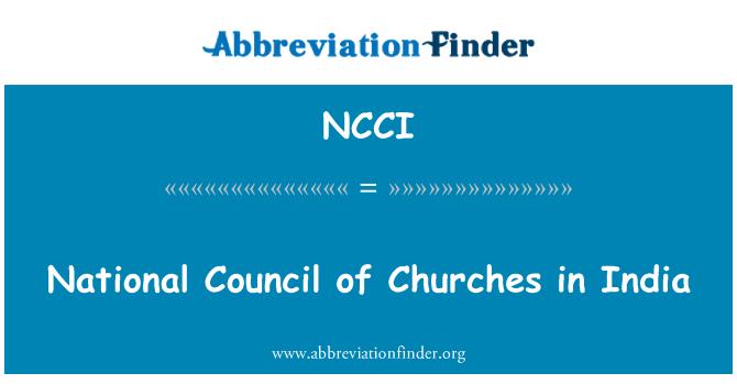 NCCI: Nemzeti Tanács India templomai
