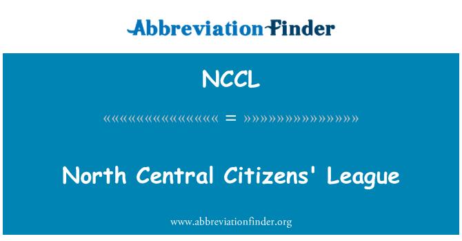 NCCL: North Central Citizens' League