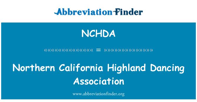 NCHDA: Northern California Highland Dancing Association