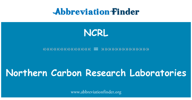 NCRL: Northern Carbon Research Laboratories