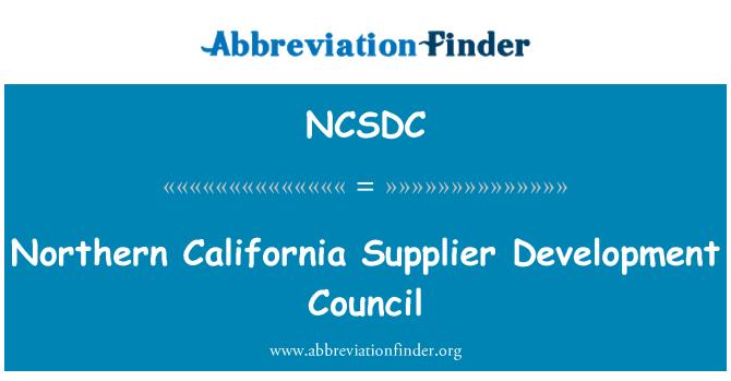 NCSDC: Northern California Supplier Development Council