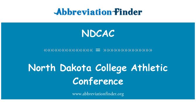 NDCAC: North Dakota College Athletic Conference