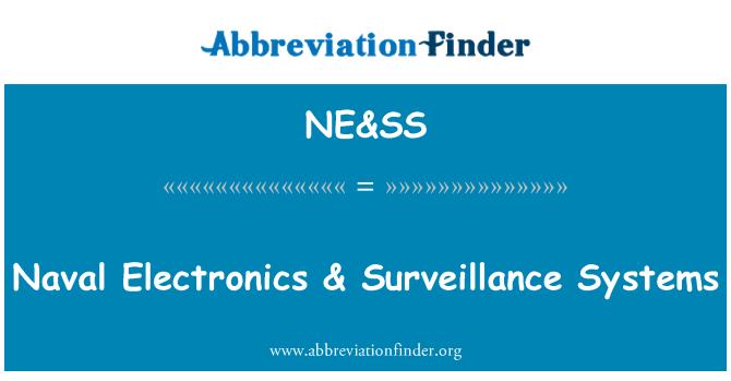 NE&SS: Naval Electronics & Surveillance Systems