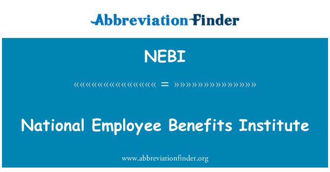 NEBI: Zaposlenik koristi Zavod