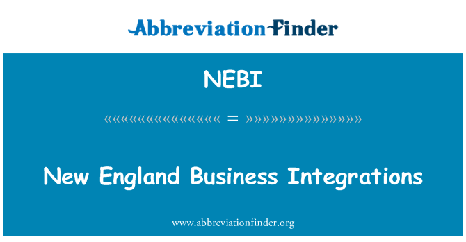 NEBI: New England Business Integrations