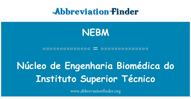 NEBM: Núcleo de Engenharia Biomédica do Instituto Superior Técnico