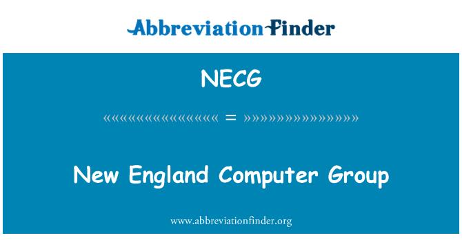 NECG: 新英格兰计算机组