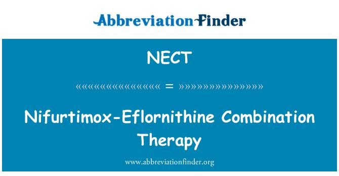 NECT: Nifurtimox-Eflornithine Combination Therapy