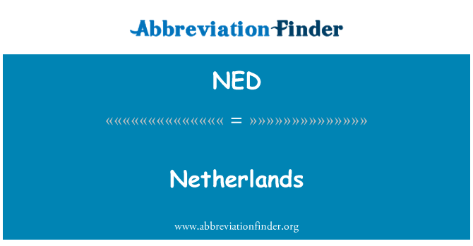 NED: Netherlands
