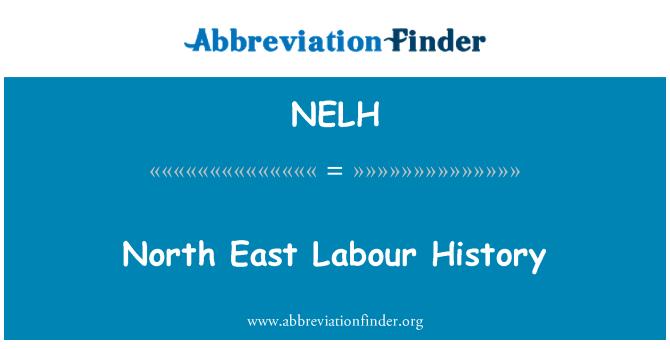 NELH: North East historia laboral