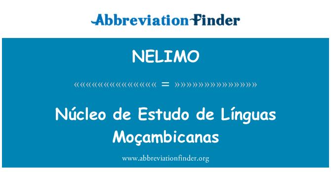 NELIMO: Núcleo de Estudo de Línguas Moçambicanas