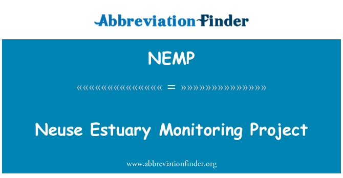 NEMP: Neuse Estuary Monitoring Project