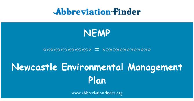 NEMP: Newcastle Environmental Management Plan