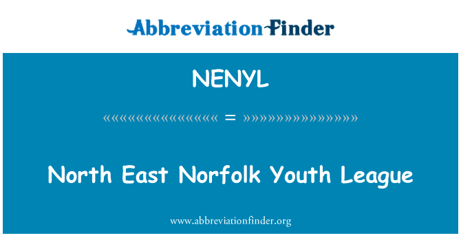 NENYL: North East Norfolk Youth League