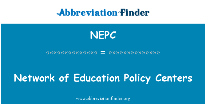 NEPC: Network of Education Policy Centers