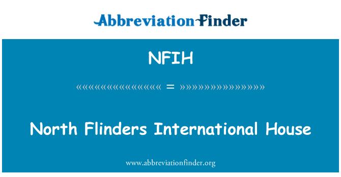 NFIH: North Flinders International House