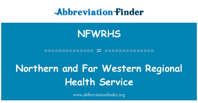 NFWRHS: Northern and Far Western Regional Health Service