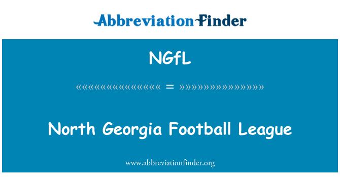 NGfL: North Georgia Football League