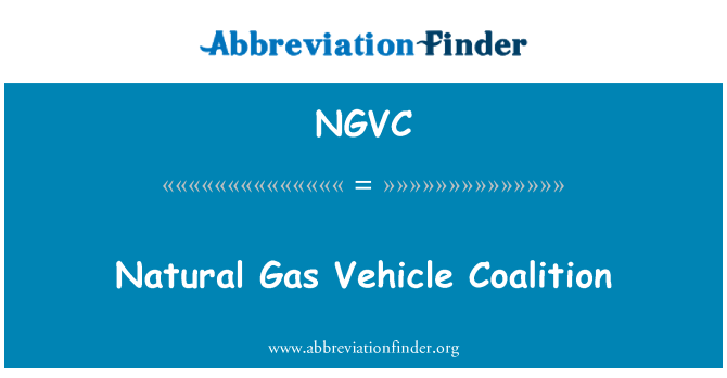 NGVC: Natural Gas Vehicle Coalition