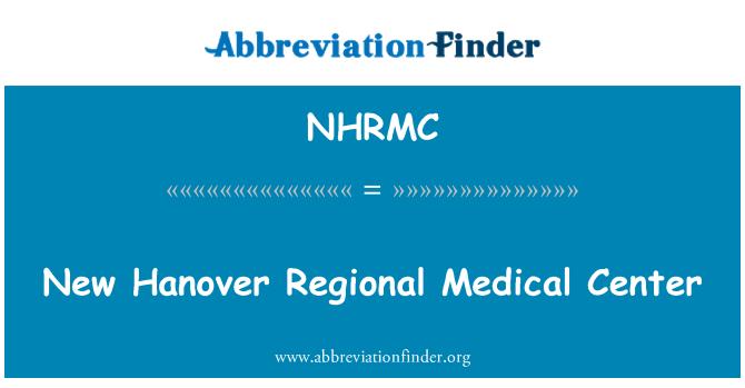 NHRMC: New Hanover Regional Medical Center
