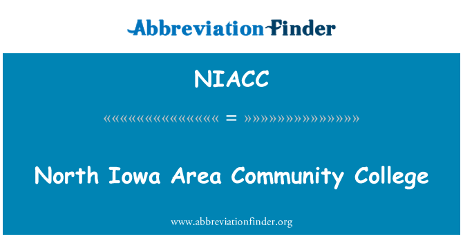 NIACC: North Iowa Area Community College