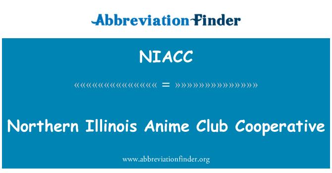 NIACC: Northern Illinois Anime Club Cooperative