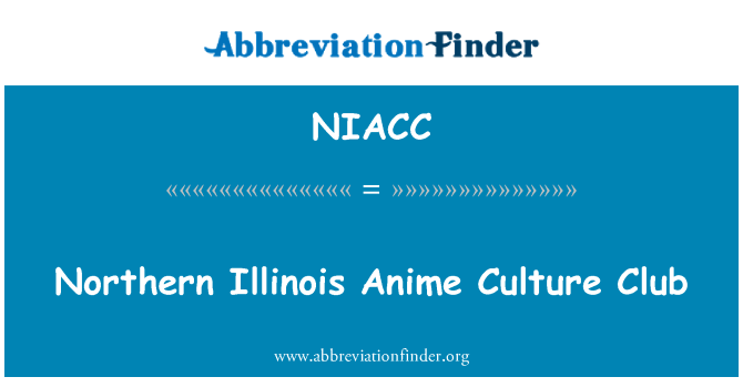NIACC: Northern Illinois Anime Culture Club