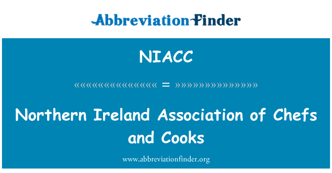 NIACC: Northern Ireland Association of Chefs and Cooks