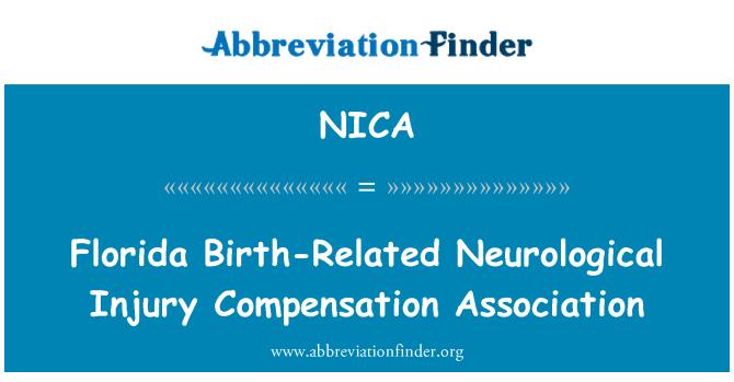 NICA: Florida fødsel-relaterede neurologisk skade kompensation Association