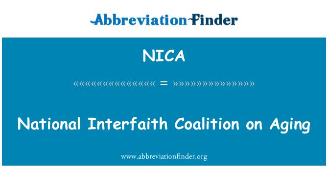 NICA: Nacionalinės religijų koalicijos senėjimo