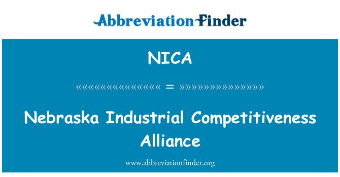 NICA: Nebraska ipari versenyképesség Szövetség