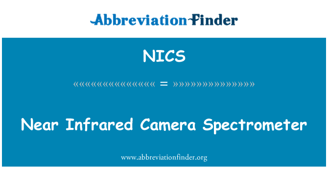 NICS: Near Infrared Camera Spectrometer