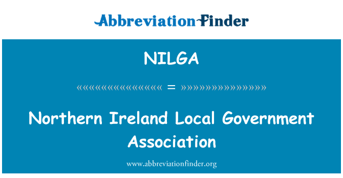 NILGA: Northern Ireland Local Government Association