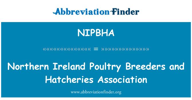 NIPBHA: Northern Ireland Poultry Breeders and Hatcheries Association