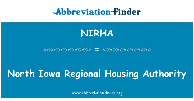 NIRHA: 北爱荷华州区域房屋委员会