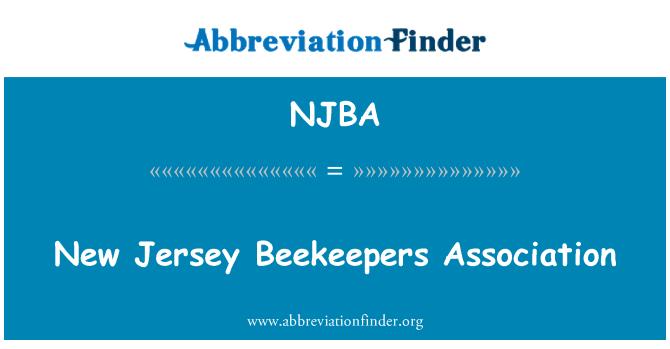 NJBA: New Jersey mesinike ühing