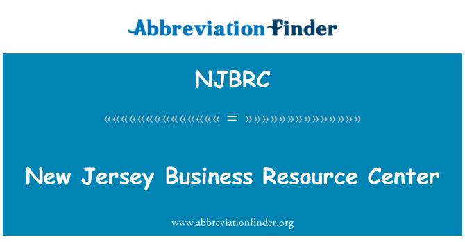 NJBRC: New Jersey Business Resource Center