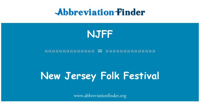 NJFF: New Jersey Folk Festival