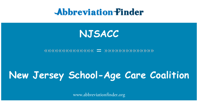 NJSACC: New Jersey School-Age Care Coalition