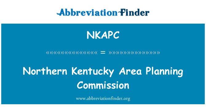 NKAPC: Northern Kentucky Area Planning Commission