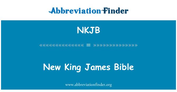 NKJB: New King James Bible