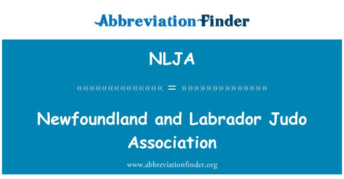 NLJA: Newfoundland and Labrador Judo Association