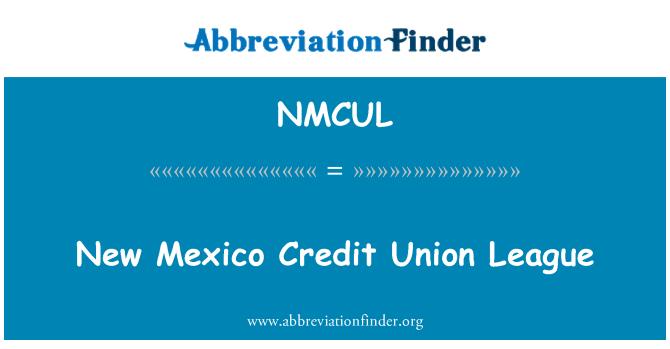 NMCUL: New Mexico Credit Union League