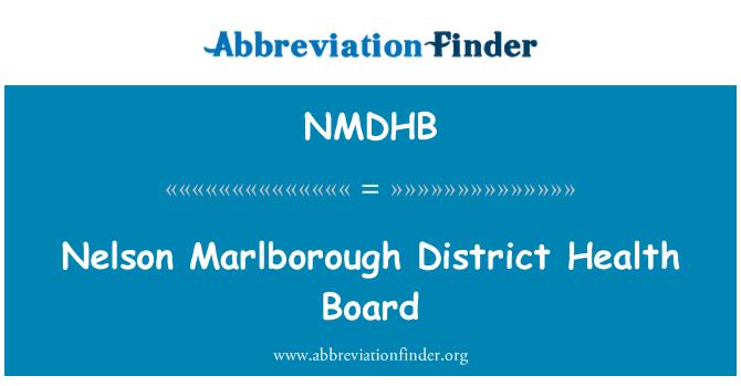 NMDHB: Nelson Marlborough District Health Board