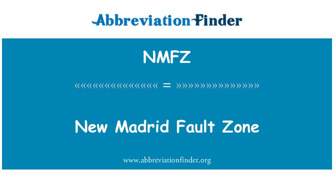 NMFZ: New Madrid Fault Zone